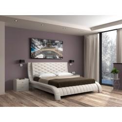Кровать экокожа Шанель
