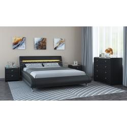 Кровать экокожа Тифани