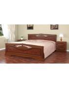 Заказать кровать из массива по доступной цене, хорошего качества и бесплатной доставкой в Красноперекопск, Армянск, Первомайское, Раздольное.